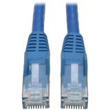 Tripp Lite Cat6 Gigabit Snagless Molded Patch Cable - (RJ45 M/M) - Blue, 6-ft.