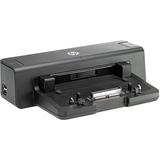 HP 2012 90W Docking Station - for Notebook - Proprietary - 4 x USB Ports - 4 x USB 3.0 - Network (RJ-45) - DVI - VGA (A7E32AA#ABA)