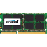 Crucial 8GB (1 x 8 GB) DDR3 SDRAM Memory Module - 8 GB (1 x 8 GB) - DDR3 SDRAM - 1333 MHz DDR3-1333/PC3-10600 - 1.35 (CT8G3S1339M)