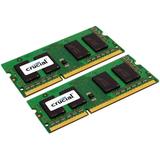 Crucial 8GB (2 x 4 GB) DDR3 SDRAM Memory Module - 8 GB (2 x 4 GB) - DDR3 SDRAM - 1600 MHz - 1.35 V - Non-ECC - Unbuff (CT2K4G3S160BM)