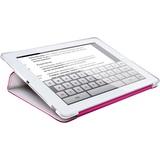 HornetTek Tai Chi new iPad Case Premium Leather White/Pink