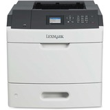 Lexmark MS810N Laser Printer - Monochrome - 1200 x 1200 dpi Print - Plain Paper Print - Desktop - 55 ppm Mono Print - (40G0100)