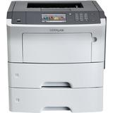 Lexmark MS610DTE Laser Printer - Monochrome - 1200 x 1200 dpi Print - Plain Paper Print - Desktop - 50 ppm Mono Print (35S0550)