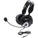 Califone 4100Avt Headset W/ Mic 3Ft To Go Plug Via Ergoguys