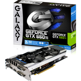 Galaxy 66NNH7DV6WXZ GeForce GTX 660 Ti GC 3GB Desktop Graphic Card -OEM