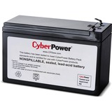 CyberPower RB1270A UPS Replacement Battery Cartridge - 7Ah - 12V DC - Maintenance-free Sealed Lead Acid (RB1270A)