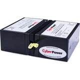 CyberPower RB1270X2 UPS Replacement Battery Cartridge - 7Ah - 12V DC - Maintenance-free Sealed Lead Acid (RB1270X2)