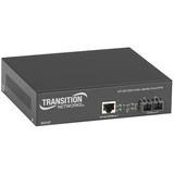 Transition Networks Power-Over-Ethernet (PoE+) PSE Media Converter