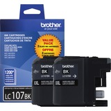 Brother LC107 2PK Ink Cartridges