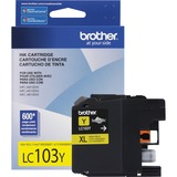 Brother Innobella LC103Y Ink Cartridge - Yellow | SDC-Photo