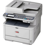 Oki MB451W LED Multifunction Printer - Monochrome - Plain Paper Print - Desktop | SDC-Photo