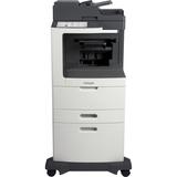 Lexmark MX812DXFE Laser Multifunction Printer - Monochrome - Plain Paper Print - Desktop - Copier/Fax/Printer/Scanner (24T7440)