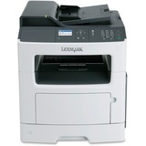 Lexmark MX310DN Laser Multifunction Printer - Monochrome - Plain Paper Print - Desktop - Copier/Fax/Printer/Scanner - (35S5700)