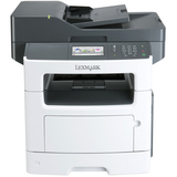 Lexmark MX511DHE Laser Multifunction Printer - Monochrome - Plain Paper Print - Desktop - Copier/Fax/Printer/Scanner (35S5704)