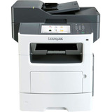 Lexmark MX611DE Laser Multifunction Printer - Monochrome - Plain Paper Print - Desktop - Copier/Fax/Printer/Scanner - (35S6701)