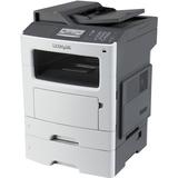 Lexmark MX611DTE Laser Multifunction Printer - Monochrome - Plain Paper Print - Desktop - Copier/Fax/Printer/Scanner (35S6800)