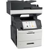 Lexmark MX711DE Laser Multifunction Printer - Monochrome - Plain Paper Print - Desktop - Copier/Fax/Printer/Scanner - (24T7404)
