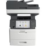 Lexmark MX711DHE Laser Multifunction Printer - Monochrome - Plain Paper Print - Desktop - Copier/Fax/Printer/Scanner (24T7320)
