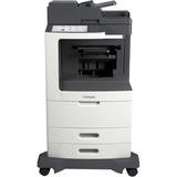 Lexmark MX810DE Laser Multifunction Printer - Monochrome - Plain Paper Print - Desktop - Copier/Fax/Printer/Scanner - (24T7407)