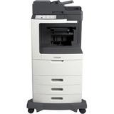Lexmark MX810DTFE Laser Multifunction Printer - Monochrome - Plain Paper Print - Desktop - Copier/Fax/Printer/Scanner (24T7412)