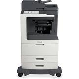 Lexmark MX811DE Laser Multifunction Printer - Monochrome - Plain Paper Print - Desktop - Copier/Fax/Printer/Scanner - (24T7419)