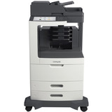 Lexmark MX811DME Laser Multifunction Printer - Monochrome - Plain Paper Print - Desktop - Copier/Fax/Printer/Scanner (24T7422)