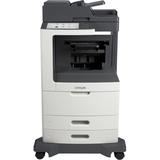 Lexmark MX812DE Laser Multifunction Printer - Monochrome - Plain Paper Print - Desktop - Copier/Fax/Printer/Scanner - (24T7431)