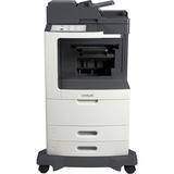 Lexmark MX812DFE Laser Multifunction Printer - Monochrome - Plain Paper Print - Desktop - Copier/Fax/Printer/Scanner (24T7432)