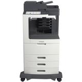 Lexmark MX812DTME Laser Multifunction Printer - Monochrome - Plain Paper Print - Desktop - Copier/Fax/Printer/Scanner (24T7438)