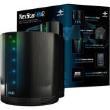"""Vantec Quad 3.5"""" SATA to USB 3.0 & eSATA External Hard Drive RAID Enclosure w/ Fan"""