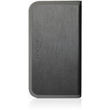 Macally SlimCover5B iPhone5 Slim Folio Leather Stand Case - Black