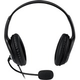 Microsoft LifeChat Headset - Stereo - USB - Wired - Over-the-head - Binaural - 6 ft Cable - Noise Cancelling, Uni-dir (JUG-00016)