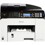 Ricoh Aficio SG 3110SFNw GelSprinter Multifunction Printer - Color - Plain Paper Print - Desktop - Copier/Fax/Printer (U2T13E)