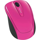 Microsoft Wireless Mobile Mouse 3500 - BlueTrack - Wireless - Radio Frequency - Magenta Pink - USB 2.0 - 1000 dpi - C (GMF-00279)