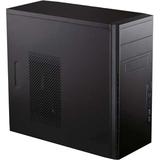 Antec System Cabinet - Mini-tower - Black - Steel - 5 x Bay - 1 x Fan(s) Installed - Micro ATX, Mini ITX Motherboard (VSK-3000E)