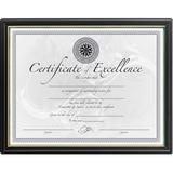 DAX Black & Gold Certificate Frames