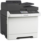 Lexmark CX410E Laser Multifunction Printer - Color - Plain Paper Print - Desktop - Copier/Fax/Printer/Scanner - 32 pp (28D0500)