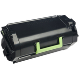 Lexmark Unison 520XA Toner Cartridge - Black - Laser - Extra High Yield - 45000 Pages Black - 1 / Pack (52D0XA0)