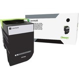 Lexmark Unison 800S1 Toner Cartridge - Black - Laser - Standard Yield - 2500 Pages - 1 Pack (80C0S10)