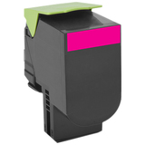 Lexmark Unison 800X3 Toner Cartridge - Magenta - Laser - Extra High Yield - 4000 Pages Magenta - 1 Pack (80C0X30)