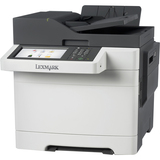 Lexmark CX510DHE Laser Multifunction Printer - Color - Plain Paper Print - Desktop - Copier/Fax/Printer/Scanner - 32 (28E0615)
