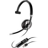 Plantronics Blackwire C710-M Headset - Mono - USB - Wired/Wireless - Bluetooth - 20 Hz - 20 kHz - Over-the-head - Mon (87505-01)