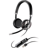 Plantronics Blackwire C720 Headset - Stereo - Black - USB - Wired/Wireless - Bluetooth - 20 Hz - 20 kHz - Over-the-he (87506-02)