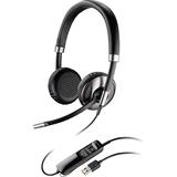 Plantronics Blackwire C720-M Headset - Stereo - USB - Wired/Wireless - Bluetooth - Over-the-head - Binaural - Semi-op (87506-01)