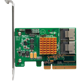 HighPoint Rocket 2720SGL 8-port SAS Controller - Serial ATA/600 - PCI Express 2.0 x8 - Plug-in Card - 2 Total SAS Port(s) - 2 SAS Port(s) Internal