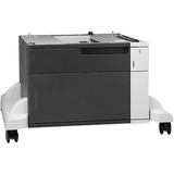 HP LaserJet 1x500-sheet Feeder with Cabinet and Stand - 500 Sheet - Plain Paper, Glossy Paper, Brochure Paper - A4 8. (CF243A)