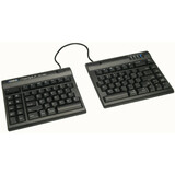 Kinesis Keyboard - Cable Connectivity - USB InterfaceTrackball, TouchPad - Compatible with Computer (Mac) - Cut, Copy (KB800HMB-US-20)