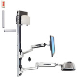 Ergotron LX Sit-Stand Wall Mount System