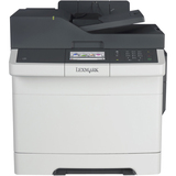 Lexmark CX410DE Laser Multifunction Printer - Color - Plain Paper Print - Desktop - 220V TAA Compliant - Copier/Fax/P (28DT551)