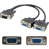 AddOncomputer.com VGA Video Splitter Cable - 2 Port - Male to Female/Female